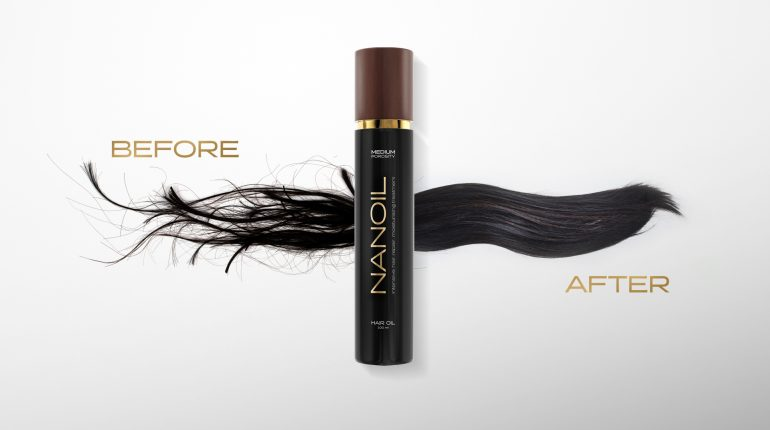 Nanoil for hair regeneration