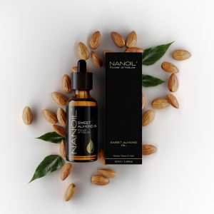 almond oil mini hair oil nanoil