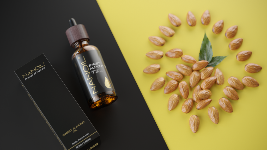 nanoil almond oil mini hair oil
